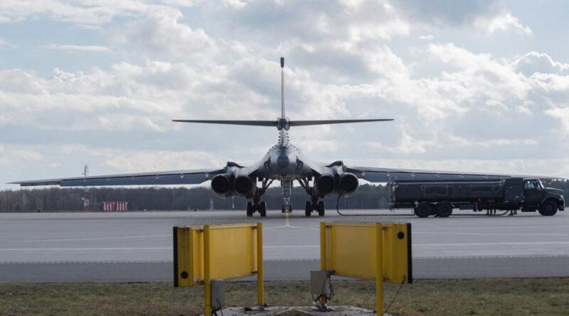 Стратегический бомбардировщик B-1B Lancer