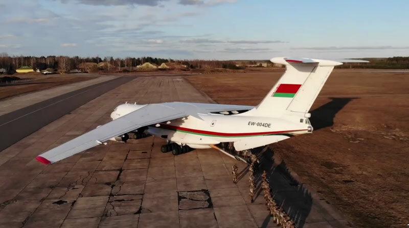 Торанспортный самолет Ил-76 МД
