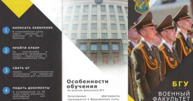 Военный факультет БГУ