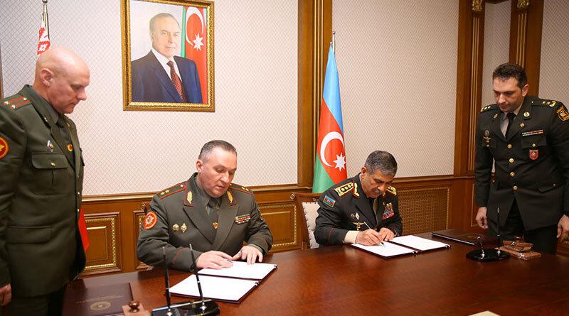 Встреча с министром обороны Азербайджана