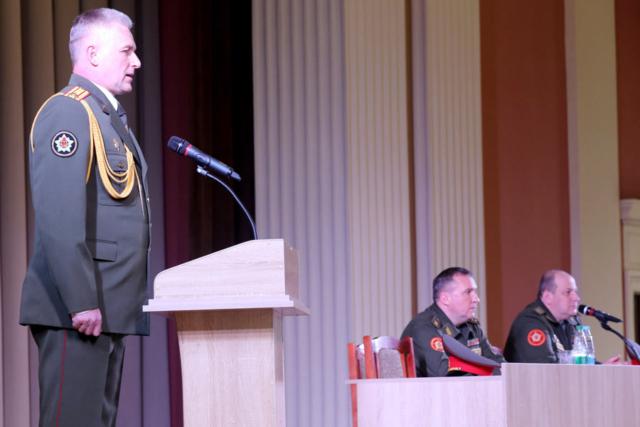 Начальник МСВУ полковник Андрей Горбатенко