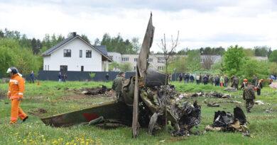 Крушение самолета Як 130 под Барановичами