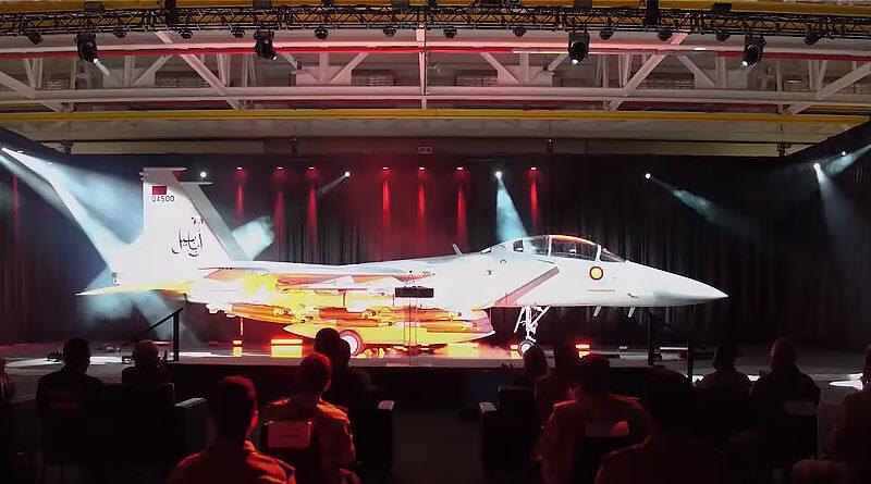 Истребитель F-15QA Ababil