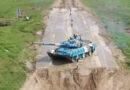 Синий танк Танковый биатлон