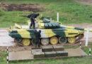 Белорусы на танковом биатлоне