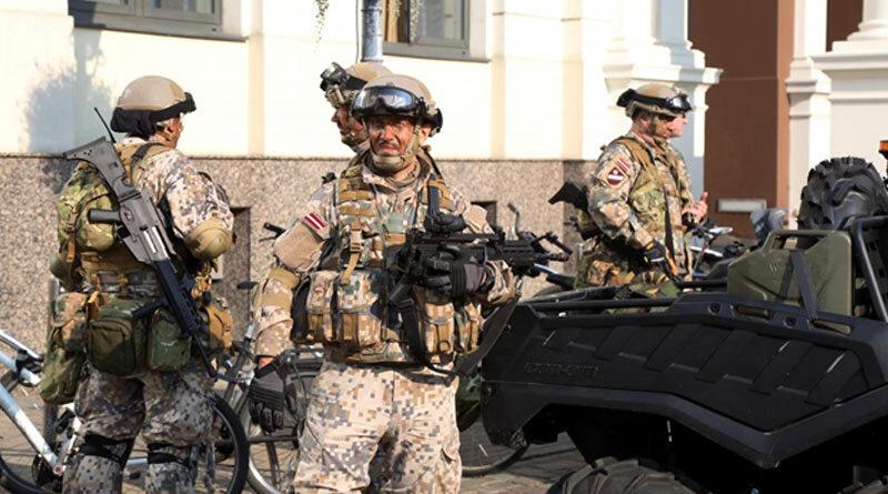 Военнослужащие Латвии НАТО